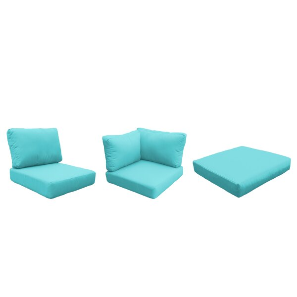 Fairfield 12 Piece Indoor/Outdoor High Back Cushion Cover Set by Sol 72 Outdoor Sol 72 Outdoor