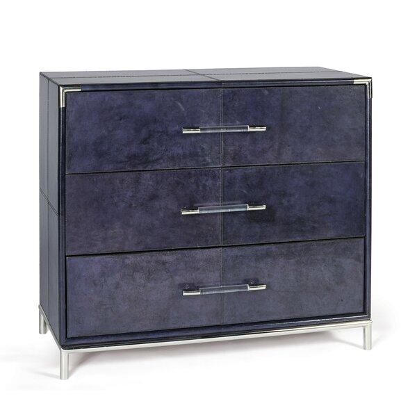 Vlachavas 3 Drawer Dresser by Orren Ellis