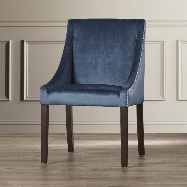 Bruns Upholstered Dining Chair by Red Barrel Studio Red Barrel Studio