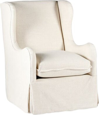 Harlow Swivel Wingback Chair by Gabby