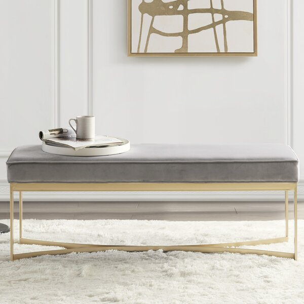 Secor Upholstered Bench by Martha Stewart