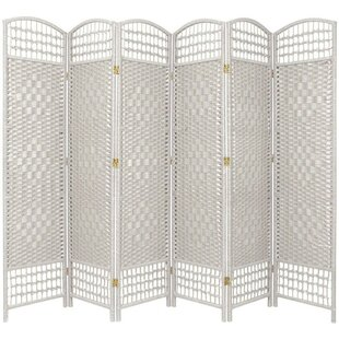 Savings Stoffel 6 Panel Room Divider By Bay Isle Home