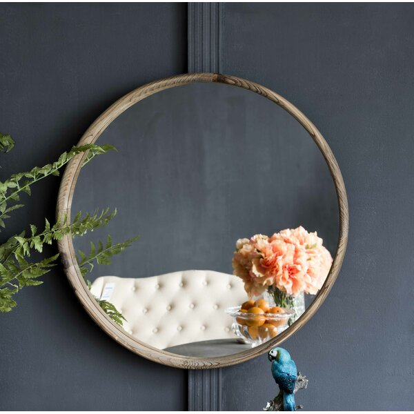 Donneville Round Accent Mirror by Lark Manor