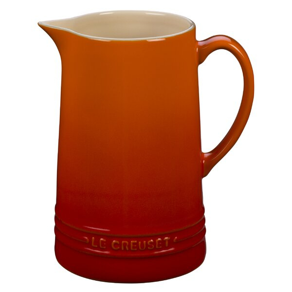 Stoneware 64 Oz. Pitcher by Le Creuset