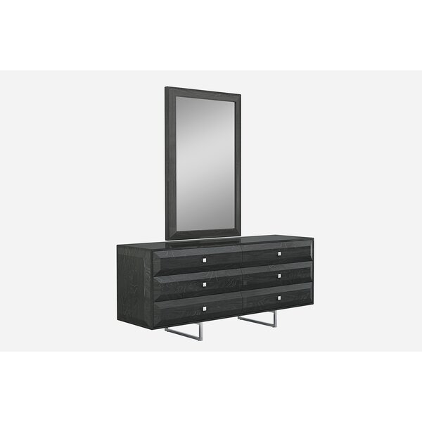 Aesara 6 Drawer Double Dresser by Orren Ellis