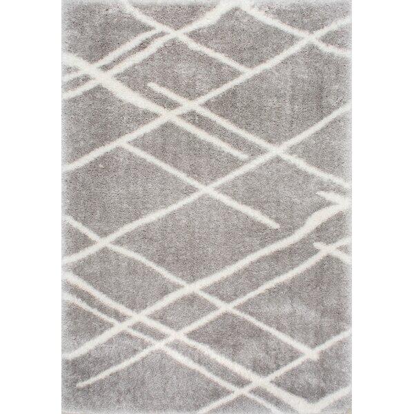 Shier Gray Area Rug by Orren Ellis