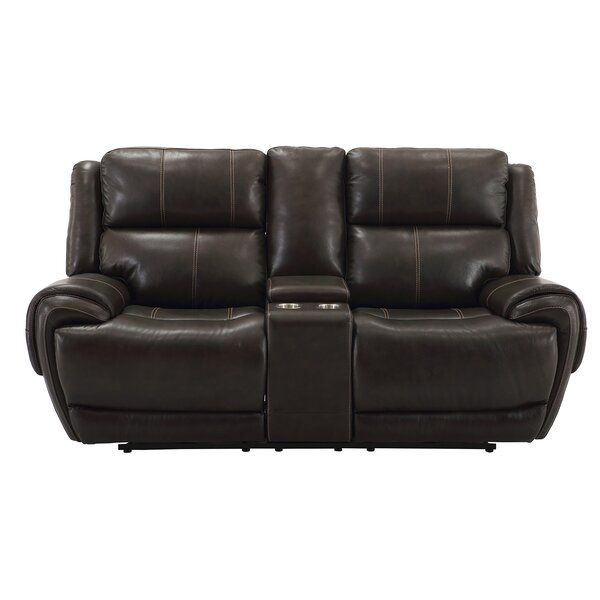 Low priced Castellanos Reclining 80 Pillow Top Arm Loveseat by Winston Porter