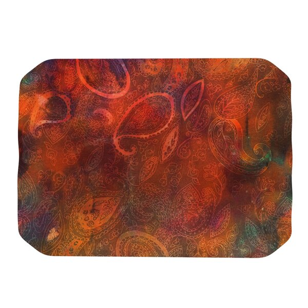 Tie Dye Paisley Placemat by KESS InHouse