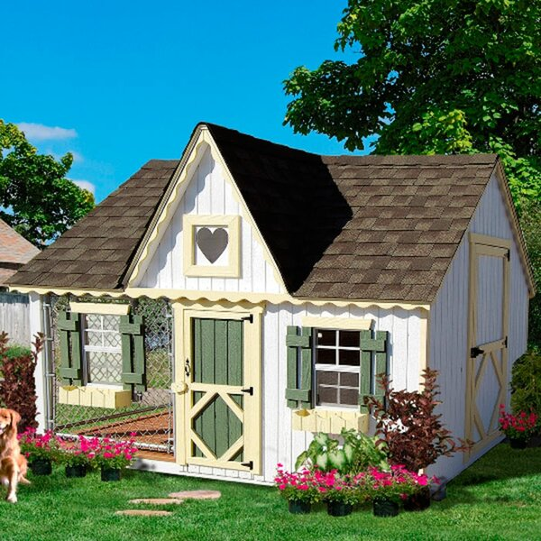 Victorian Cottage Kennel Dog House by Little Cottage Company