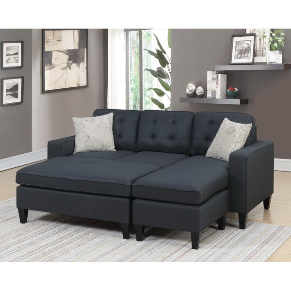 Deals Gustav Right Hand Facing Sectional With Ottoman