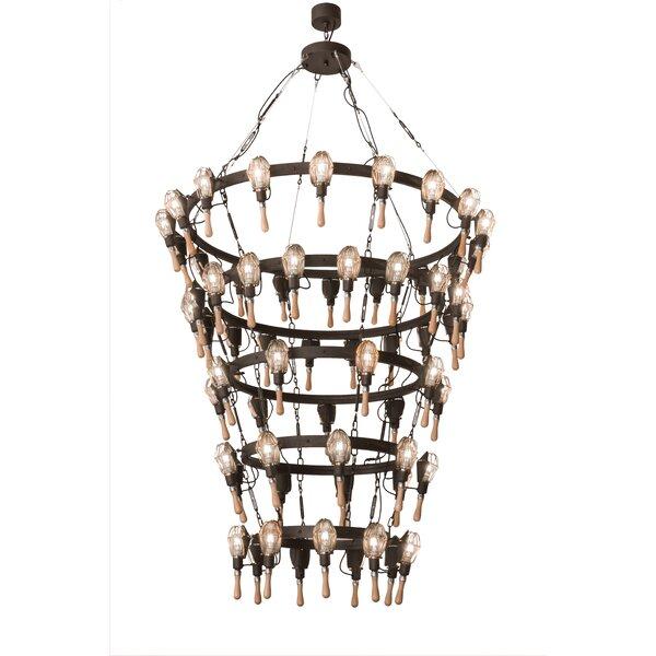 Keener 63 - Light Unique Tiered Chandelier By Williston Forge