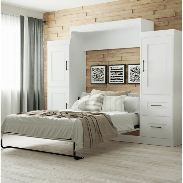 St. Mark inchs Place Storage Murphy Bed by Latitude Run
