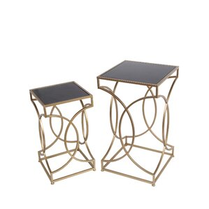 Coquina 2 Piece End Table Set by Mercer41
