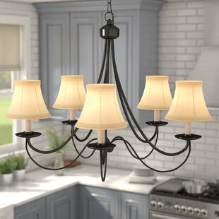 Compare & Buy Lewellen 5-Light Shaded Chandelier By Three Posts