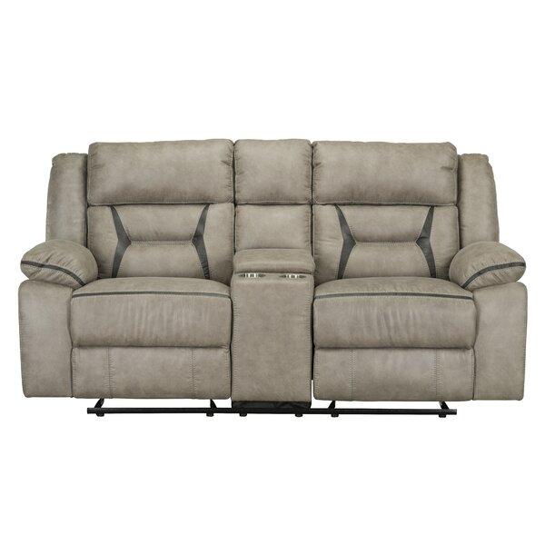 Naglee Reclining Loveseat by Winston Porter