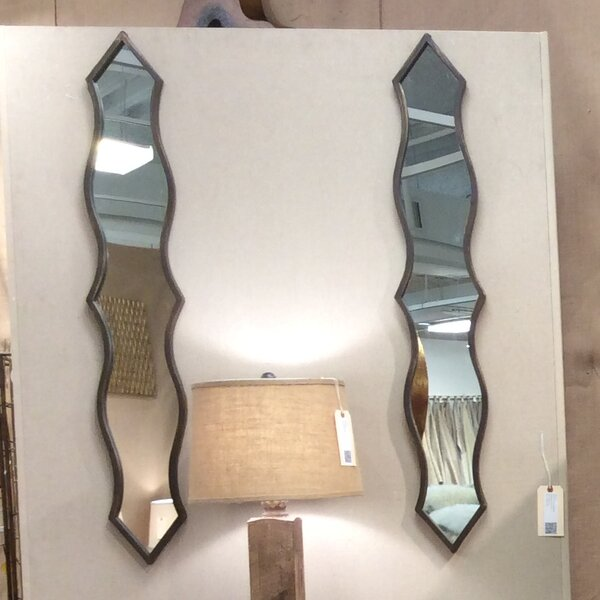 Metal Wall Mirror (Set of 2) by Teton Home