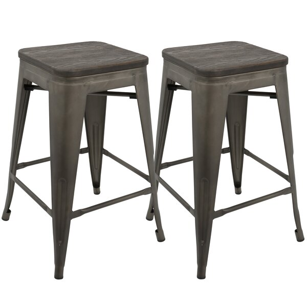 Claremont 24 Bar Stool (Set of 2) by Trent Austin Design