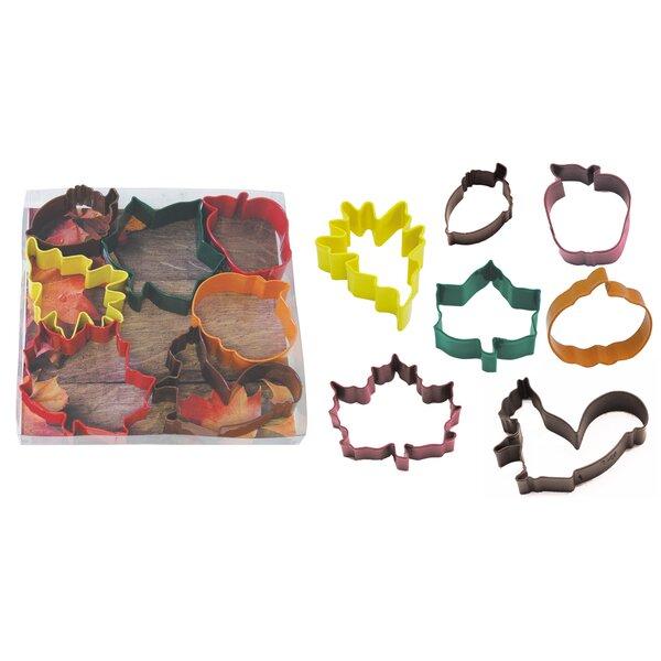 Autumn Leaf 7 Piece Cookie Cutter Set by R & M International Corp.