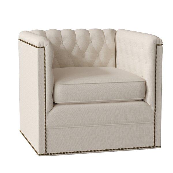 Outdoor Furniture Thatcher Swivel Armchair