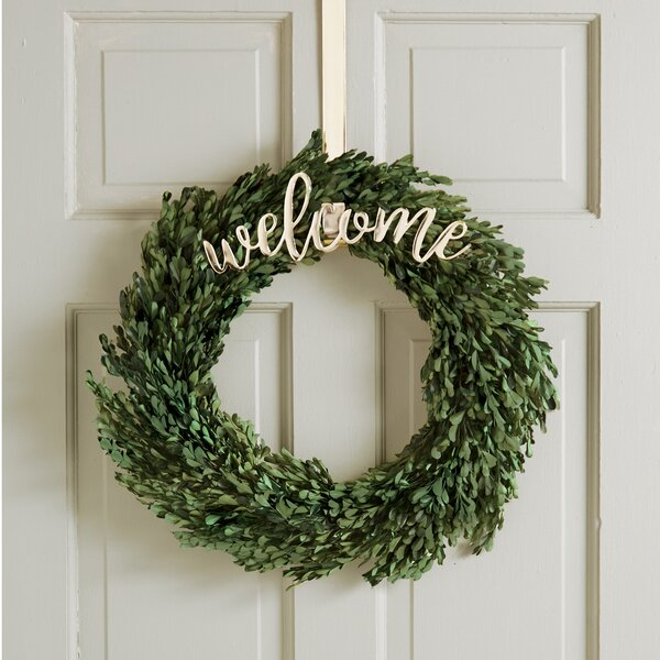 Welcome Wreath Hanging Accessory by Mud Pie™