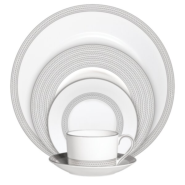 Vera Moderne 5 Piece Place Setting, Service for 1 by Vera Wang