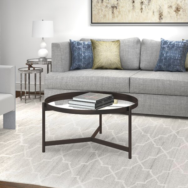 Oberon Coffee Table by Wrought Studio