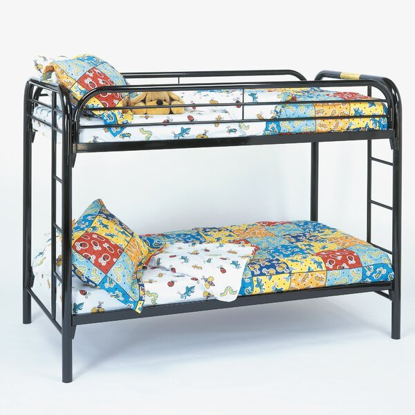 Twin over Twin Bunk Bed by Monarch Specialties Inc.