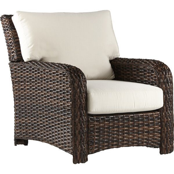 Chorio Patio Chair with Cushions by Bay Isle Home