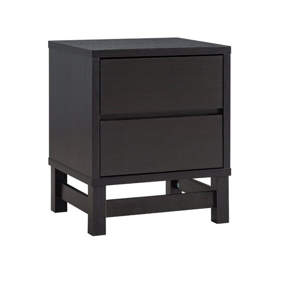 Smither 2 Drawer Nightstand by Wrought Studio