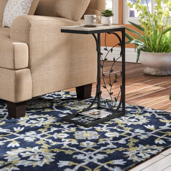 Wycombe Leaf End Table by Fleur De Lis Living