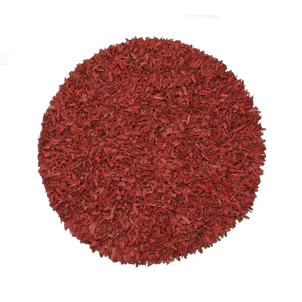 Handmade Red Area Rug by Ess Ess Exports