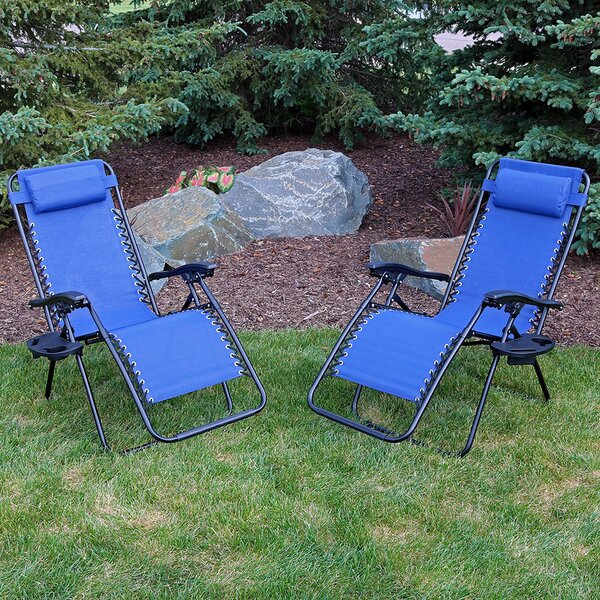 Maci Reclining Zero Gravity Chair Set Of 2 By Freeport Park.