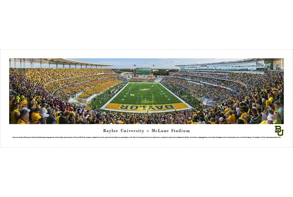 NCAA Baylor University by James Blakeway Photographic Print by Blakeway Worldwide Panoramas, Inc