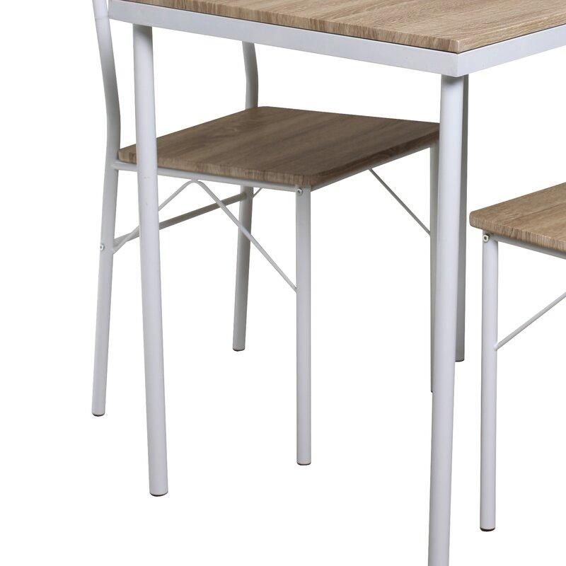 home haus essgruppe conumidaria mit 2 st hlen bewertungen. Black Bedroom Furniture Sets. Home Design Ideas
