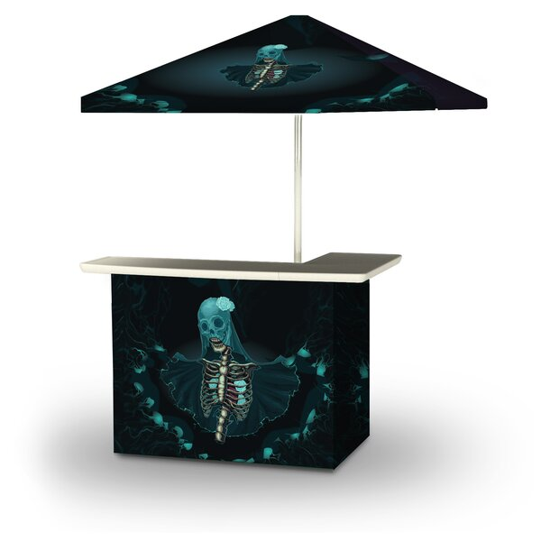 Agna Halloween Corpse Bride 2-Piece Home Bar Set by East Urban Home