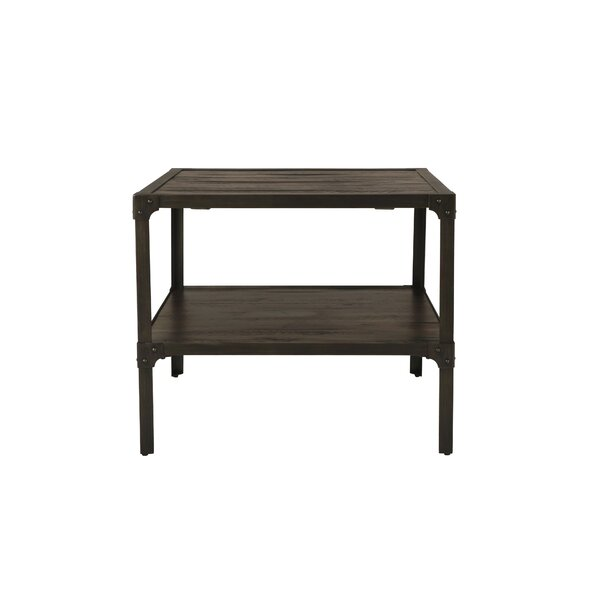 Drusilla End Table by 17 Stories