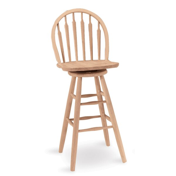 Toby 30 Swivel Bar Stool by August GroveToby 30 Swivel Bar Stool by August Grove