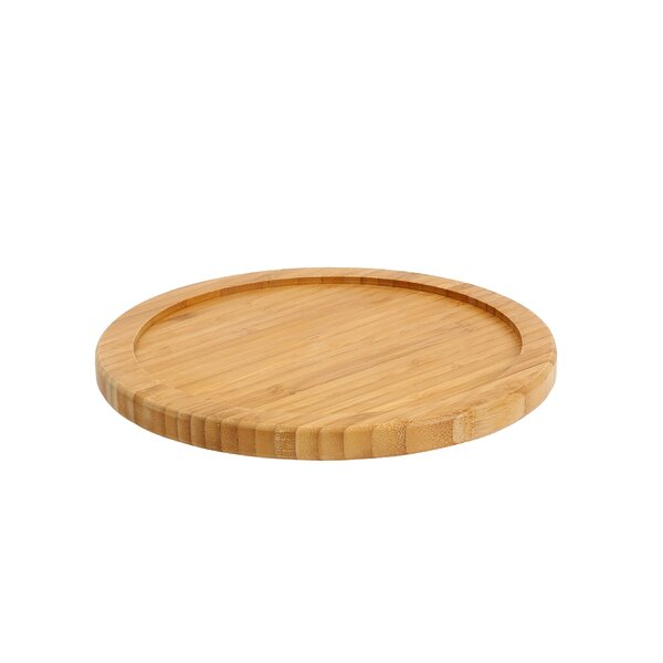 Bamboo Single Turntable Lazy Susan by YBM Home