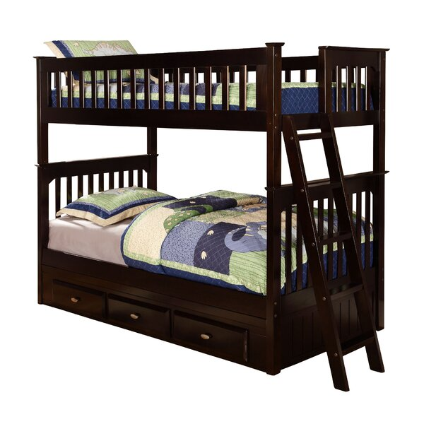 Kaitlyn Twin Bunk Bed with Drawers by Viv + Rae