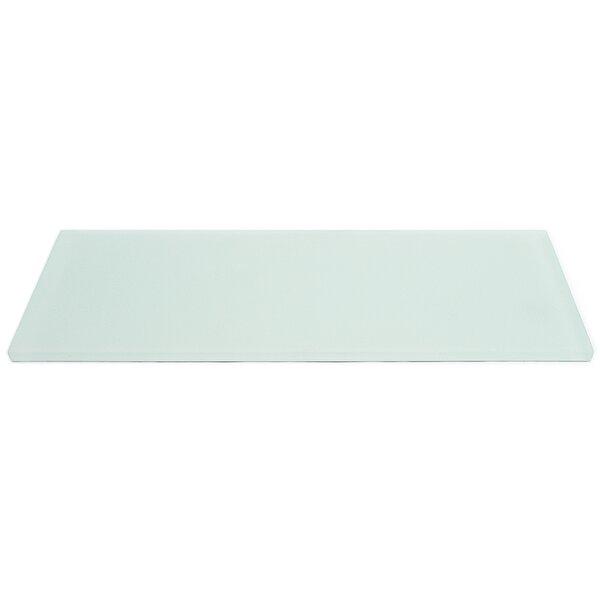 Contempo 4 x 12 Glass Subway Tile in Seafoam by Splashback Tile