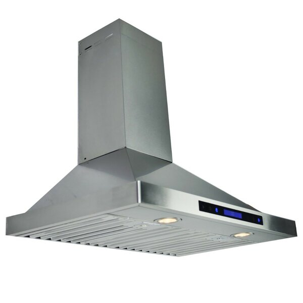 30 400 CFM Convertible Wall Mount Range Hood by AKDY