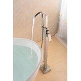 SevenFalls Single Handle Floor Mounted Freestanding Tub Filler with Handshower by Eisen Home