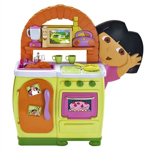 Pleasing Nickelodeon Dora The Explorer Talking Play Kitchen Set Gamerscity Chair Design For Home Gamerscityorg