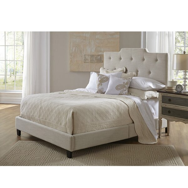 Hibbs Queen Upholstered Standard Bed by Charlton Home