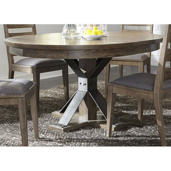 Cleaver Pedestal 5 Piece Dining Set by Gracie Oaks