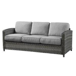 Sofa with Cushions Wildon Home