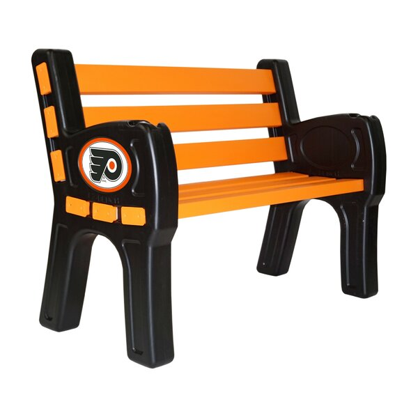 Philadelphia Flyers Plastic Park bench by Imperial International