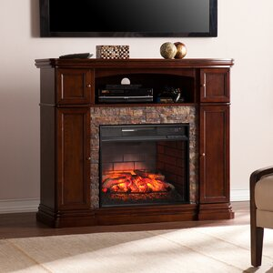 Patrizio Infrared Media Electric Fireplace