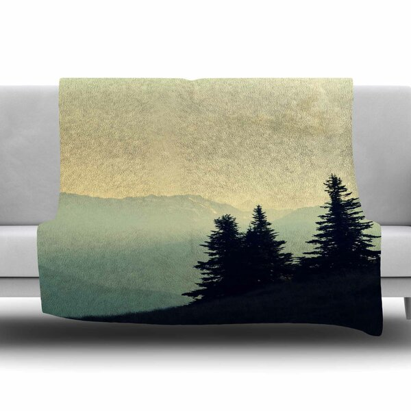 A Wonderful World by Robin Dickinson Fleece Blanket by East Urban Home