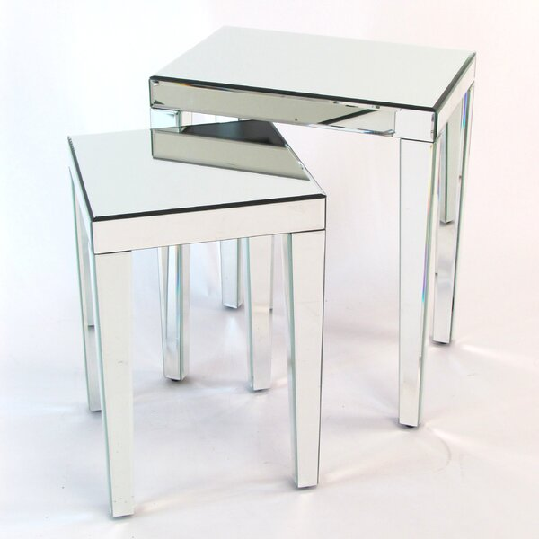 Quinnlynn 2 Piece Nesting Table Set By House Of Hampton®